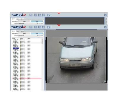 AutoTRASSIR-30/1 система распознавания автономеров Trassir
