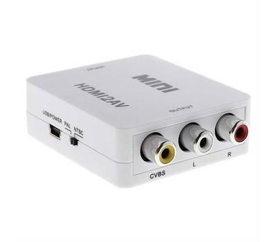 HDV-M610 конвертер HDMI в CVBS+Audio
