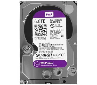 WD60PURZ 6Tб жесткий диск серия Purple