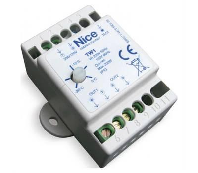 TW1 термостат для нагревательного кабеля Nice