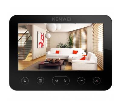 СНЯТО KW-E706FC-W100 Vizit монитор видеодомофона Kenwei