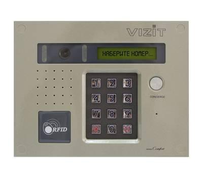 БВД-432FCB блок вызова домофона Vizit