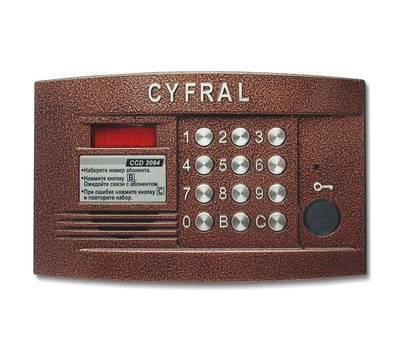 Цифрал CCD-2094.1/PVC блок вызова домофона