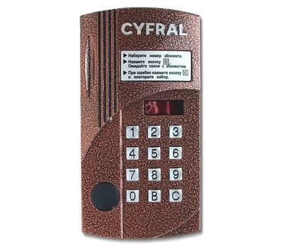 Цифрал CCD-2094.1M/PK блок вызова домофона