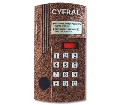 Цифрал CCD-2094M/P блок вызова домофона