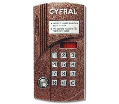 Цифрал CCD-2094M/T блок вызова домофона