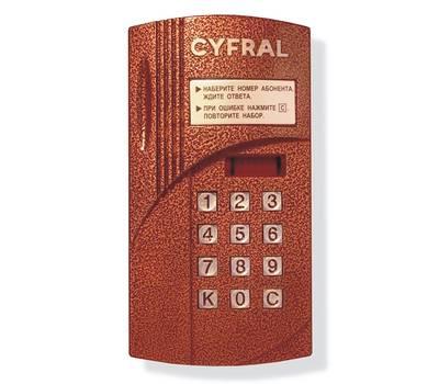 Цифрал CCD-2094M блок вызова домофона