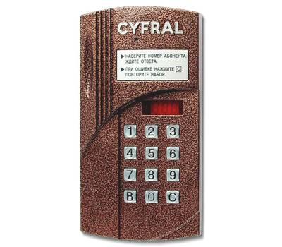 Цифрал CCD-2094M/VC блок вызова домофона