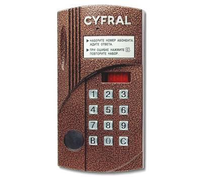Цифрал CCD-2094M/PVC блок вызова домофона