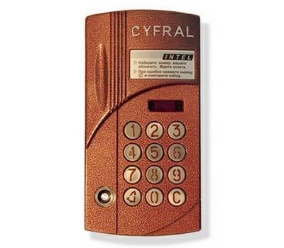 Цифрал ИНТЕЛ/VC блок вызова домофона