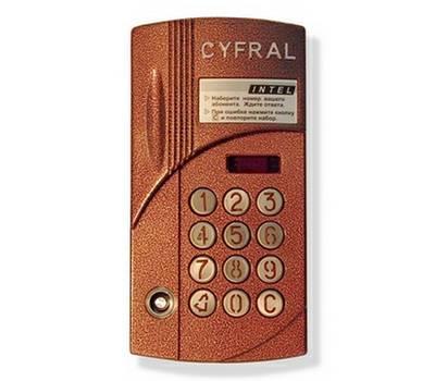 Цифрал ИНТЕЛ блок вызова домофона