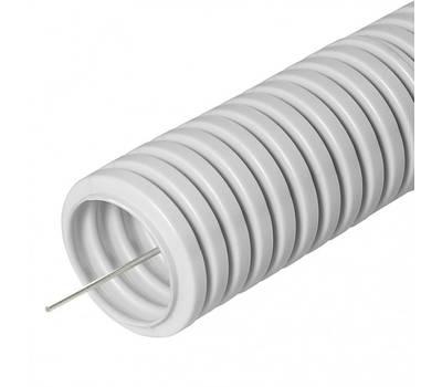 25мм лёг. труба гофр. ПВХ (012531) (50 м)